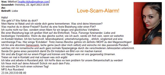 fotos von love scammern