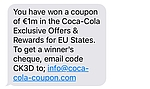 Coca-Cola Exclusive Offers Rewards sind Betrugsversuch