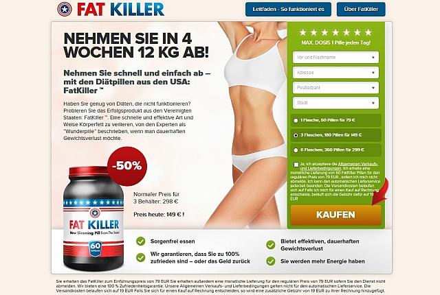 fatkiller abo pierderea în greutate din berlin