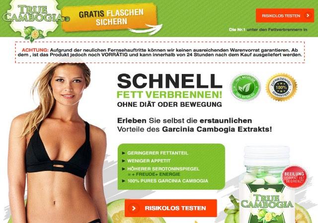 Watchlist Internet Diatpillen Warnung Vor True Cambogia Com Und