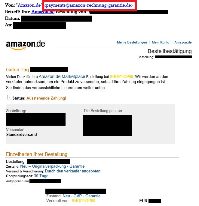 Amazon Marketplace Bestellung Storniert