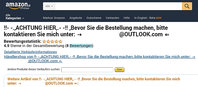 Amazon Seller Central Rechnung Verschicken