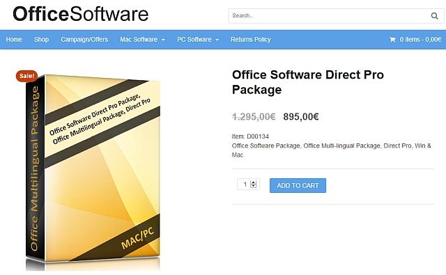 watchlist internet rechnung von office software direct. Black Bedroom Furniture Sets. Home Design Ideas