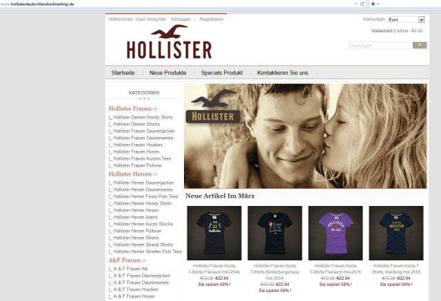 94e103019eb287 Watchlist Internet  Unseriöse Hollister Deutschland Online-Shops